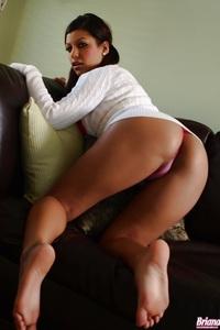 Briana Lee Pink Panties 06