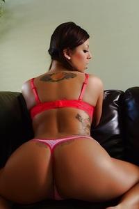 Briana Lee Pink Panties 10