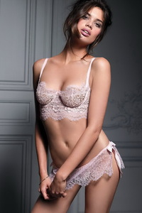 Beautiful Sara Sampaio Hot Lingerie Photos 11