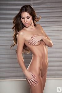 Lovely Brunette Cybergirl Kelsey Ann Nude Photos 13