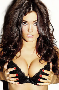 India Reynolds Sexy Lingerie Photos