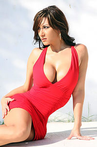 Diane In A Tight Red Dress