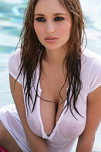 Shay Laren Gets Soaked