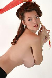 Danielle Riley Unwraps Breasts