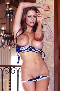 Emily Addison Strips Off And Fingers Her Aroused Clit