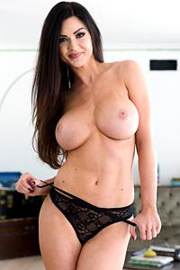 Busty Brunette Kendall Karson