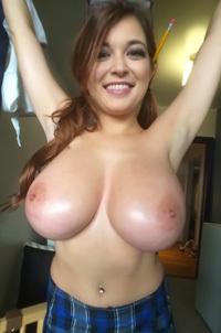 Tessa Fowler Huge Boobs