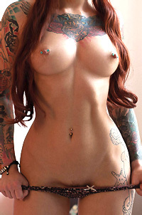 Janesinner Hot Tattooed Beauty