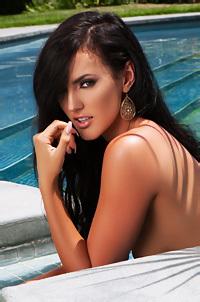 Ashleigh Hannah Tiny Bikini